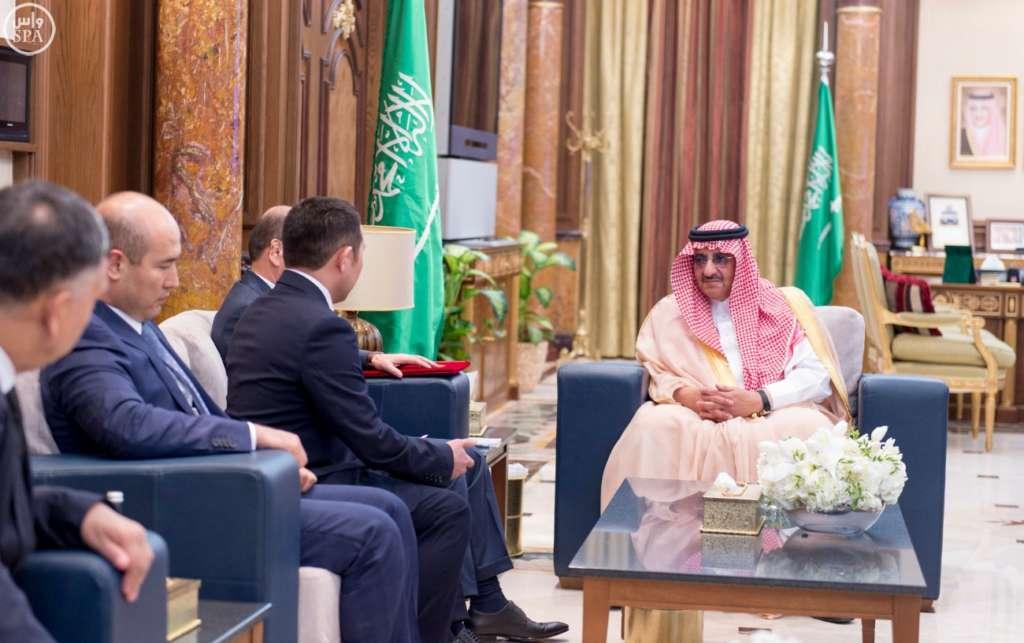 Saudi Crown Prince, Visiting Kyrgyz Interior Minister Sign Security Agreement