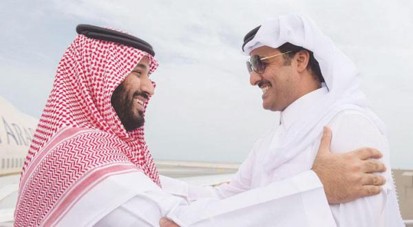 Saudi Deputy Crown Prince and Emir of Qatar Discuss Developments in the Region