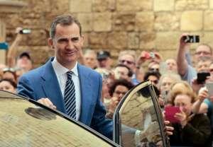 Spain's King Felipe
