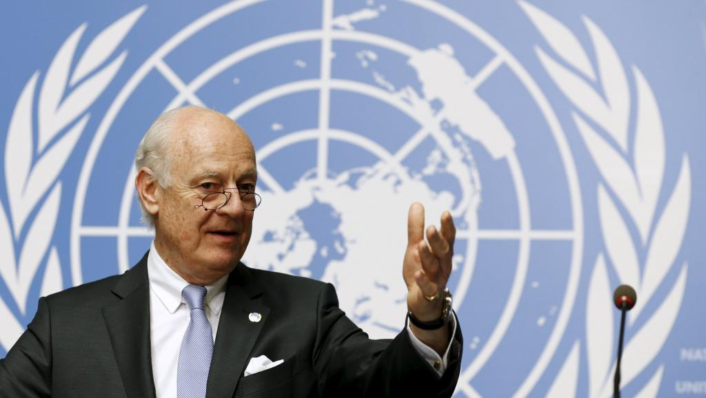 De Mistura Says Peace Talks not Set to Resume for Weeks amid Warning of Starvation
