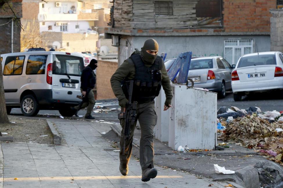 PKK Militants Kill Five Members of Turkish Security Forces