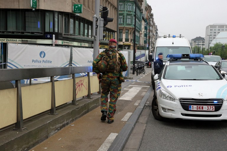 Man Arrested in Brussels after Bomb Alert