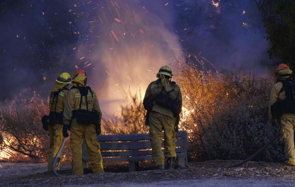 Southern California Brush Fire Threatens Homes, Prompts Evacuations