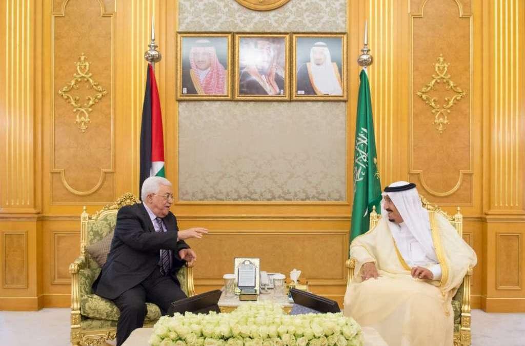 King Salman Meets Abbas in Jeddah…Discuss Developments in Palestinian Territories