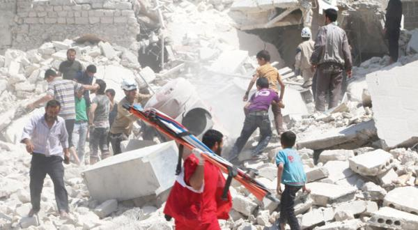 Aleppo Appeals to the World to Help Bury its Dead