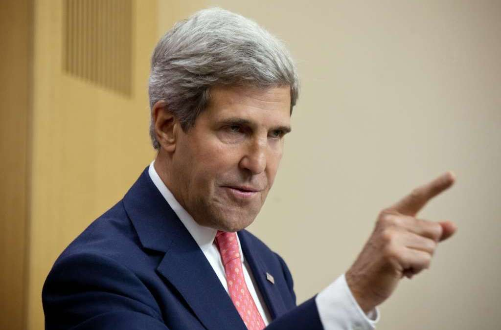 Kerry Meets With State Dept. Dissenters Urging Action on Syria