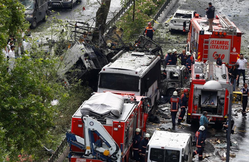 Kurdish Militant Group Says Responsible for Istanbul Bombing
