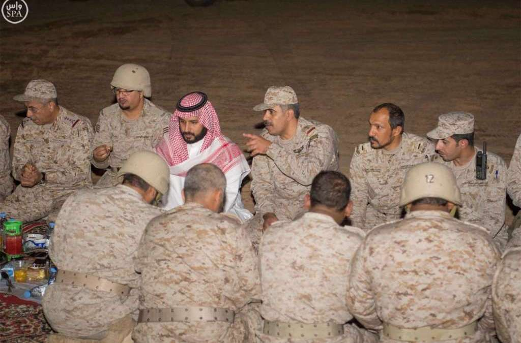 Deputy Crown Prince Inspects Military Units in Najran