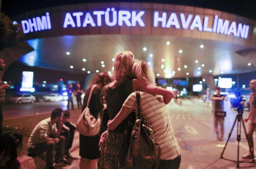 Ataturk Airport Attack Perpetrators Hiding Near Syrian Borders