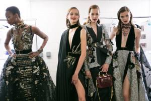 Haute Couture Autumn Winter 2016-17 by Lebanese international fashion designer Elie Saab.