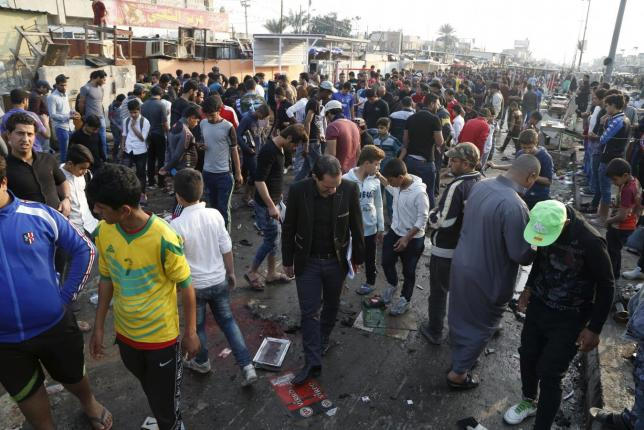 Protests at Sadr City, Iraq Demanding Execution of 300 Terror Convicts