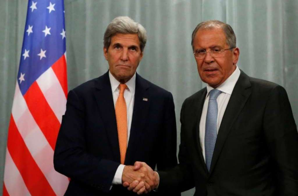 Lavrov, Kerry Discuss Syrian Settlement…Sources Expect Outcomes to Be Announced Soon