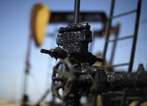 File of pump jacks are seen in the Midway Sunset oilfield