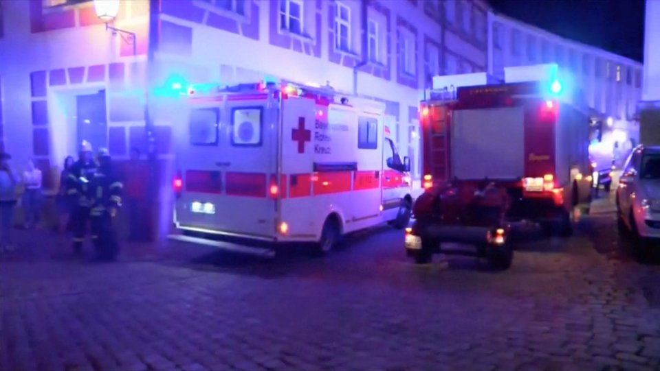 Bomb-carrying Syrian Migrant Dies Near German Music Festival,12 Wounded