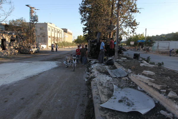 The Syrian Regime Targets a Maternity Hospital and a Civil Defence Centre in Idlib