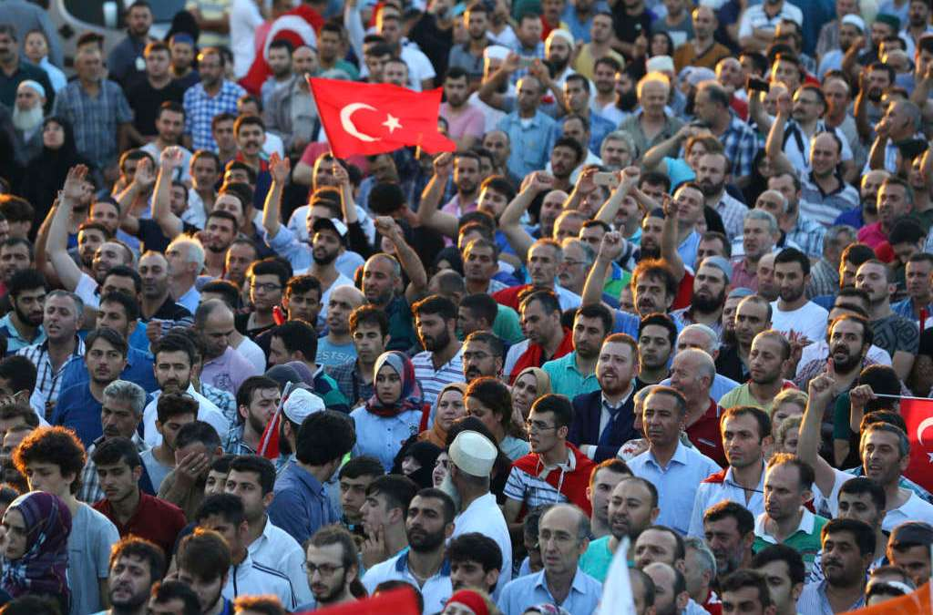 Thousands of Judges Purged in Turkey after Failed Coup Attempt