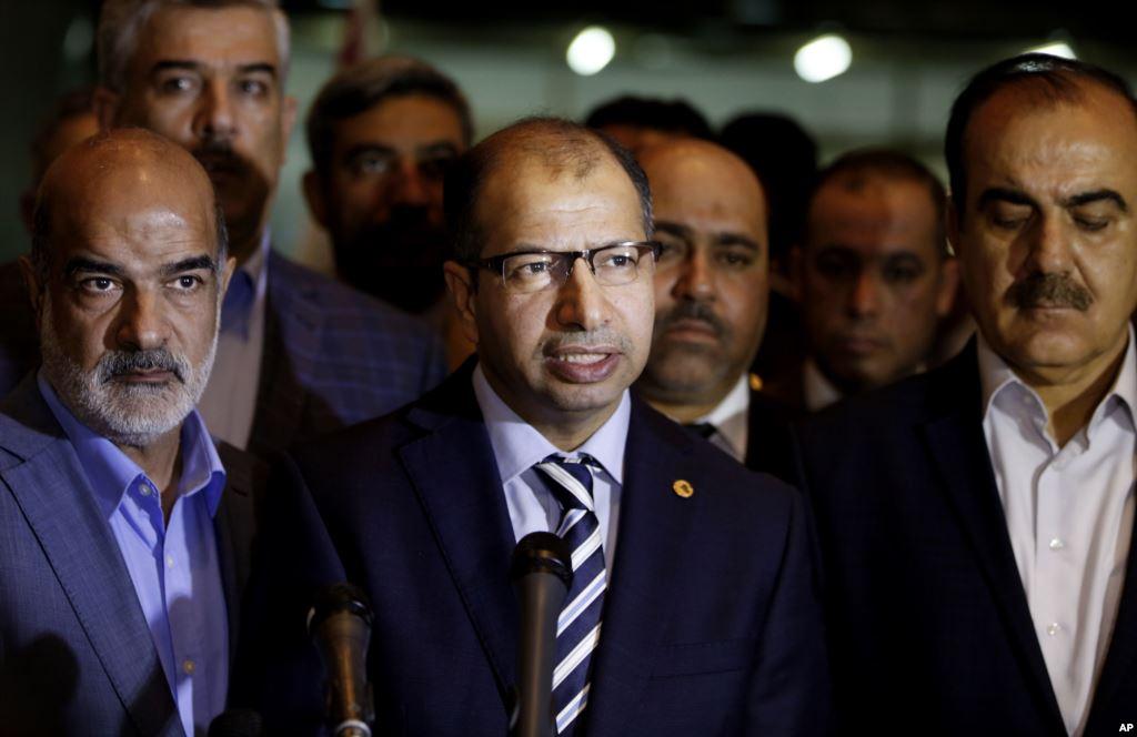 Iraqi Judiciary Imposes Travel Ban on Parliament Speaker
