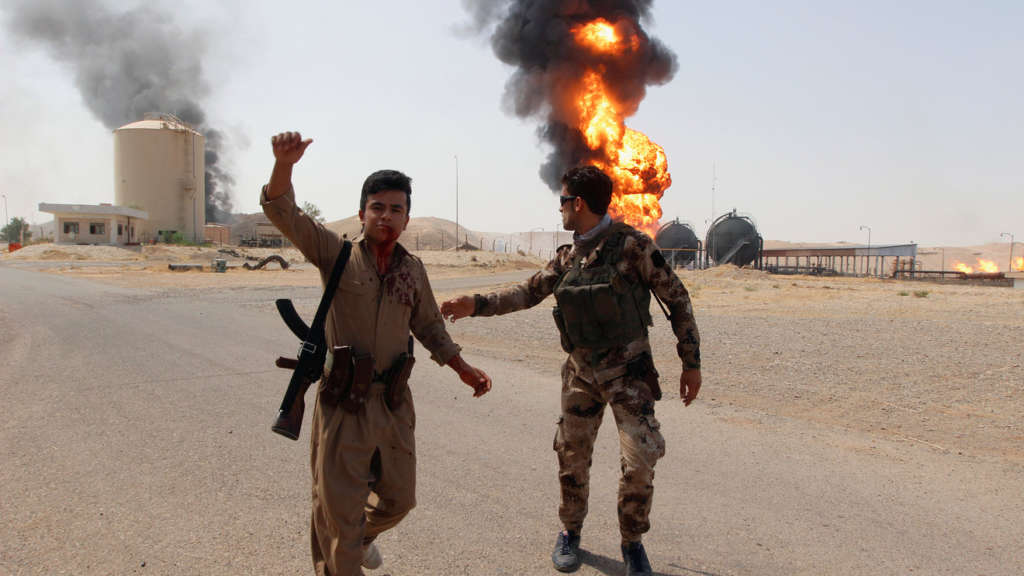 ISIS Breaks into West Kirkuk, Iraq Energy Facilities