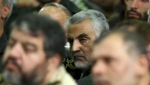Qassem Soleimani, commander of the Quds Force in the Iranian Revolutionary Guard
