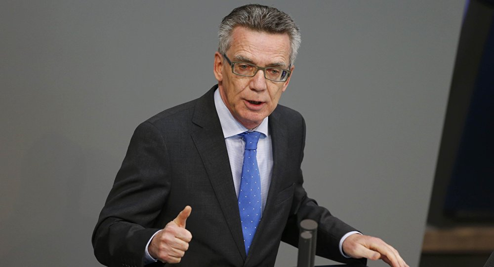 German Interior Minister Reveals anti-Terror Measures