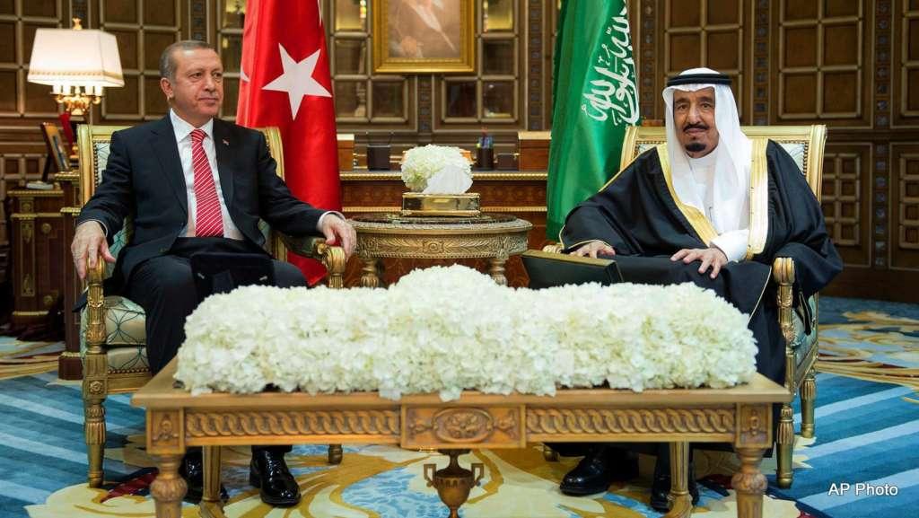 Saudi Leadership Sends Condolences to Erdogan on Victims of Gaziantep Explosion