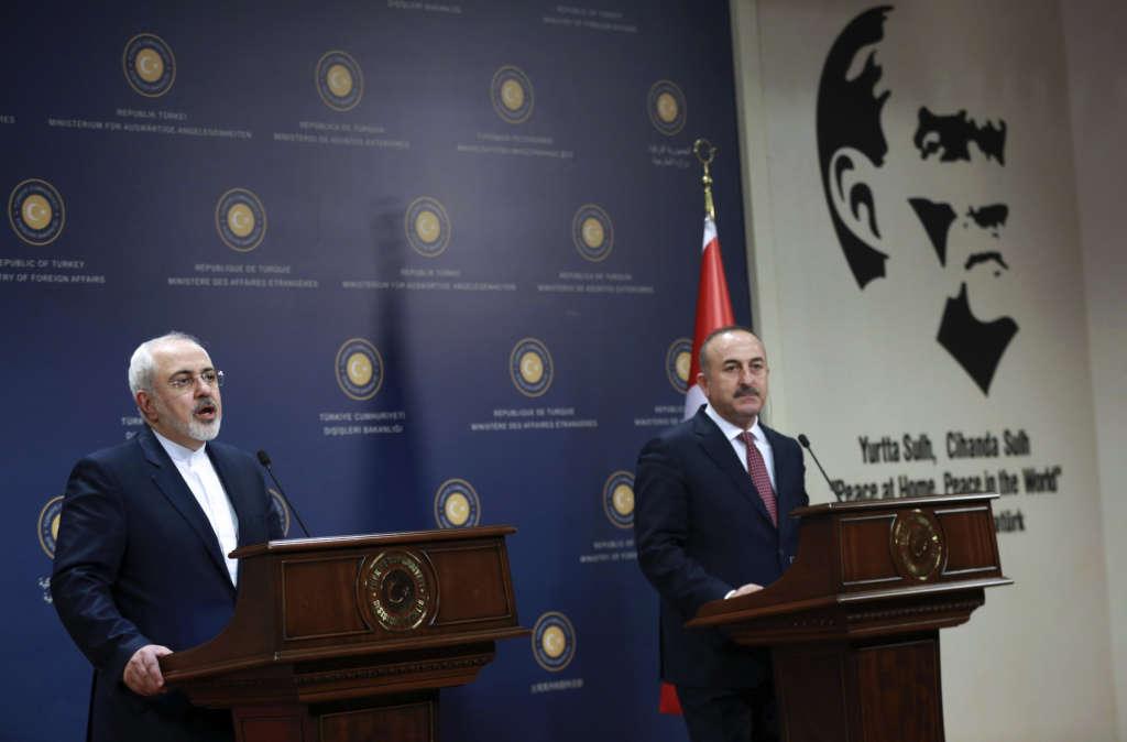 Çavuşoğlu after Meeting Zarif: 'Turkey's Security is Iran's Security'
