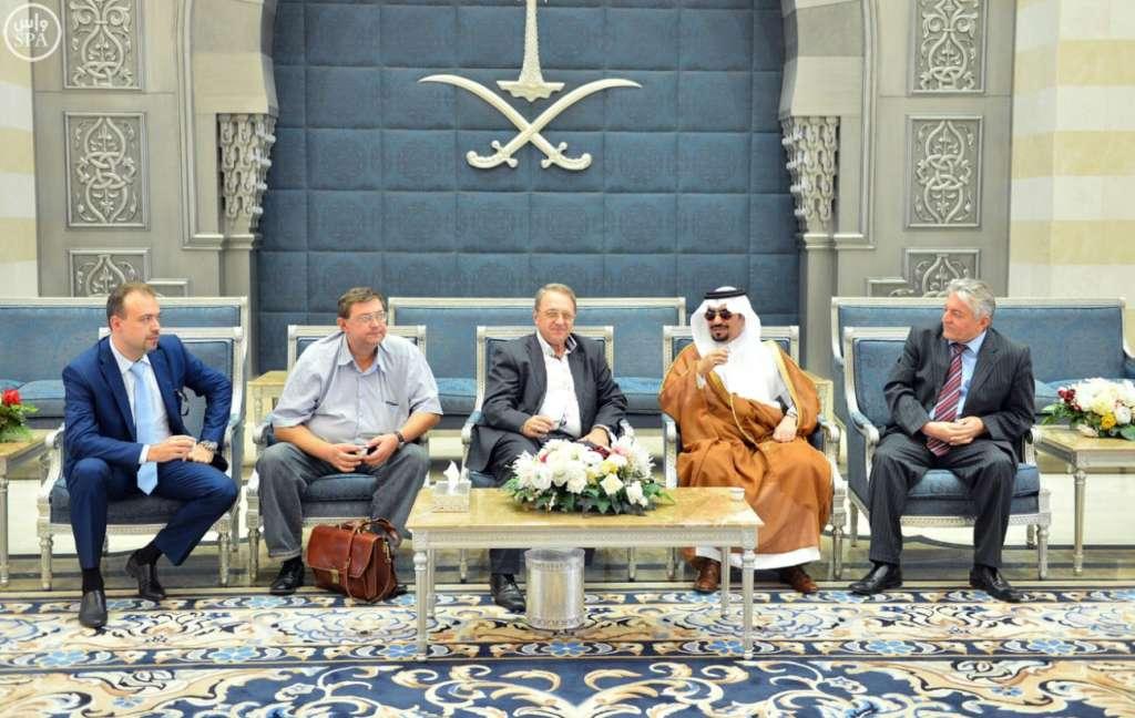 Russian Presidential Envoy Arrives in Jeddah