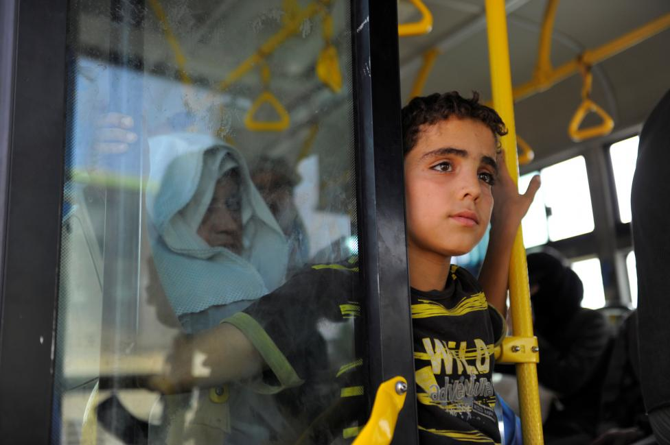 Assad Regime Displaces Daraya Residents, World Stands Idle