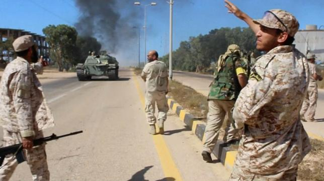 U.S. Special Operations Troops Aiding Libyan Forces in Major Battle against ISIS