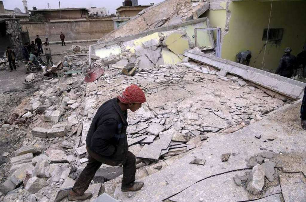 SNHR: Russian Forces Targeted 59 Medical Centers in Syria