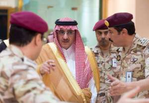 Crown Prince Arrives to Mina/SPA