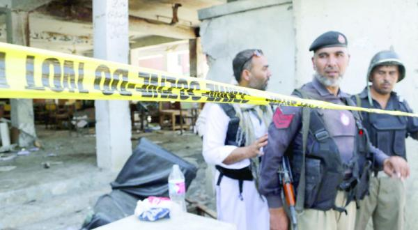 13 People Killed in Suicide Bomb Targeting Pakistani Court