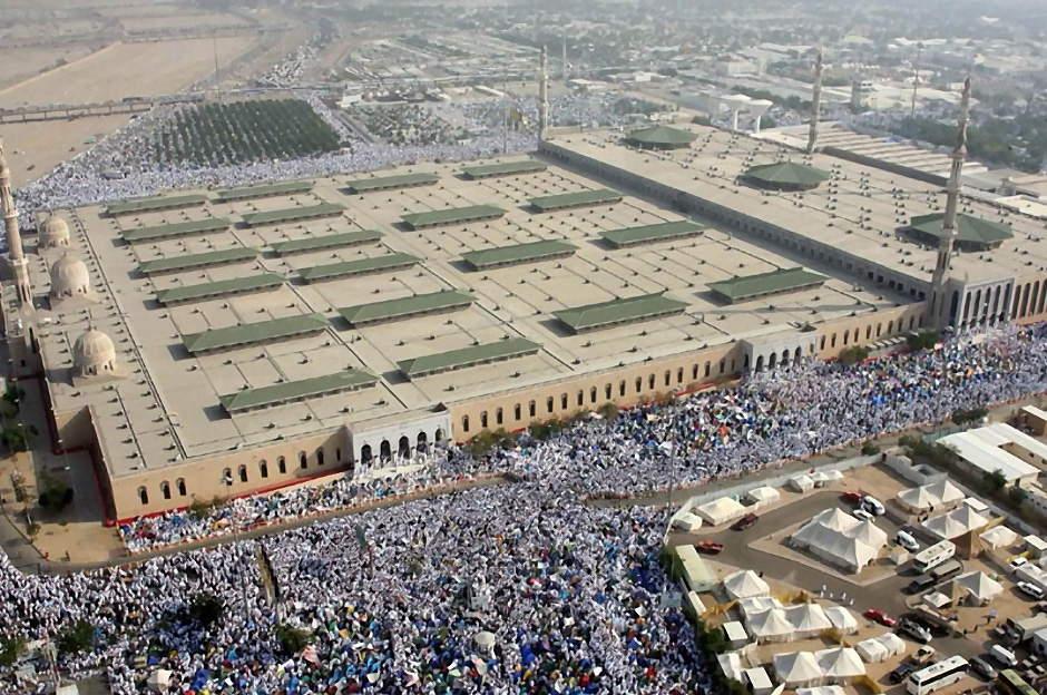 Nimra: Mosque for Hajj Sermon in Arafat