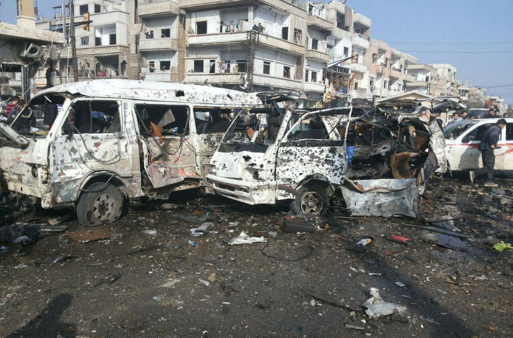 String of Bombings Hit across Syria, Scores Killed and Injured