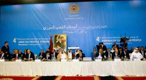 The fourth meeting of the Friends of Syria group opened on 11 December 2012 in Marrakesh, Morocco.