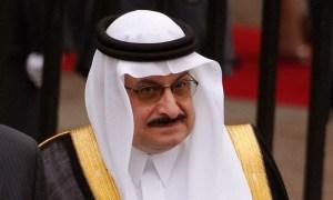 Saudi Arabia's Prince Mohamed bin Nawaf bin Abdulaziz.