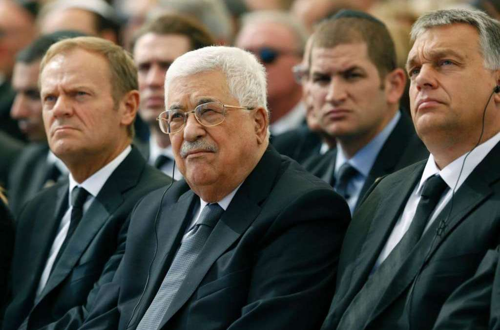 Peres' Funeral Adds Fuel on the Fire of Palestinian Disputes
