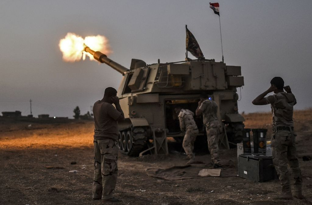 Fierce Clashes in Christian Iraqi District Al-Hamdaniya