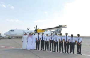 Hail Airport and Nesma officials at the launch. Oct 28 2016/Saudi Gazette