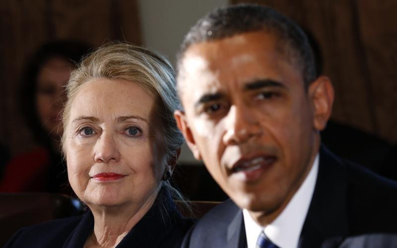 In Private, Clinton Split with Obama on Iran