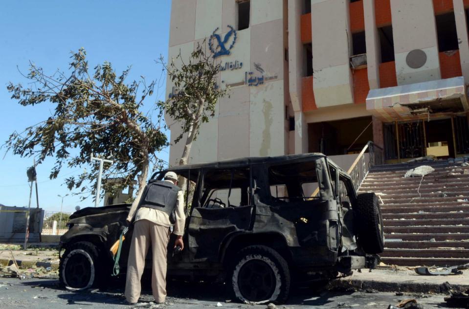 Egyptian Air Strikes Hit Jihadists after Expansion of Terrorist Attacks