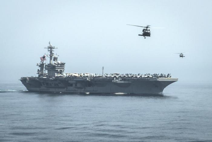 Forty Iranian Warships Violate Yemeni Territorial Waters