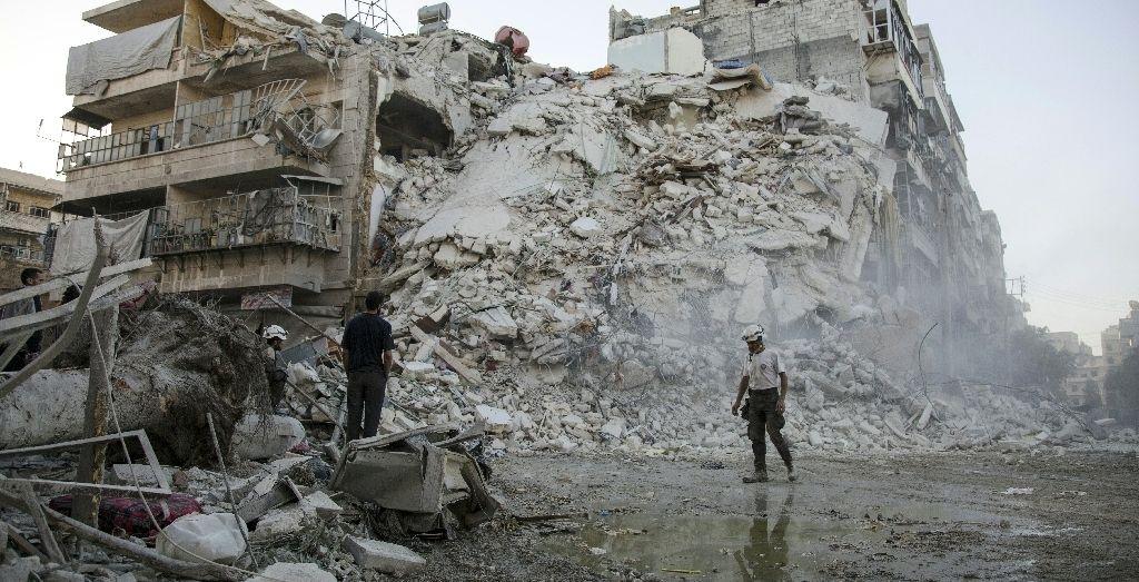 U.N. Rights Chief Says Aleppo Scene of 'Historic' Crimes