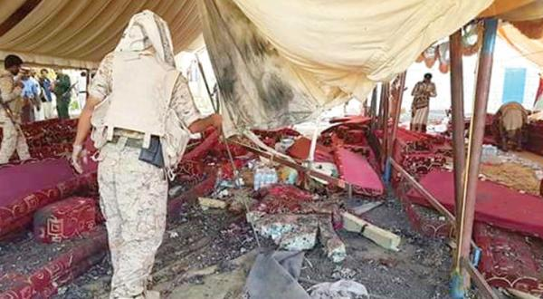 Marib: Dozens Killed and Injured in Explosion at Major Shadady's Funeral