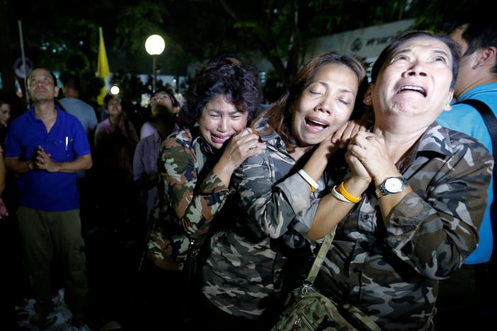 Thai King Bhumibol Adulyadej Dies at 88
