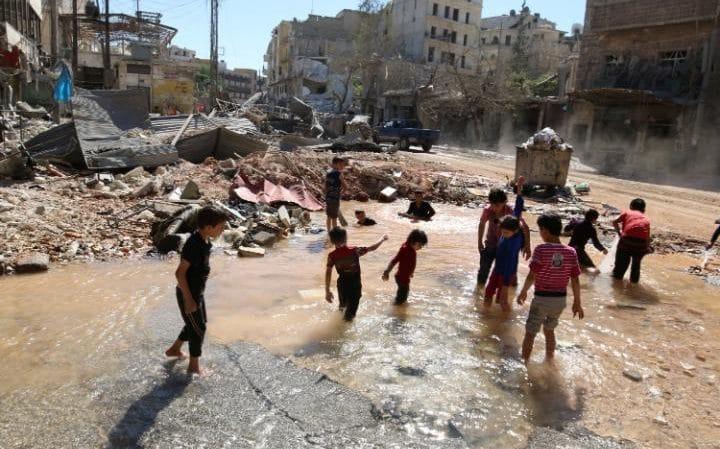 UNICEF: 100,000 Children under Siege in Eastern Aleppo Alone