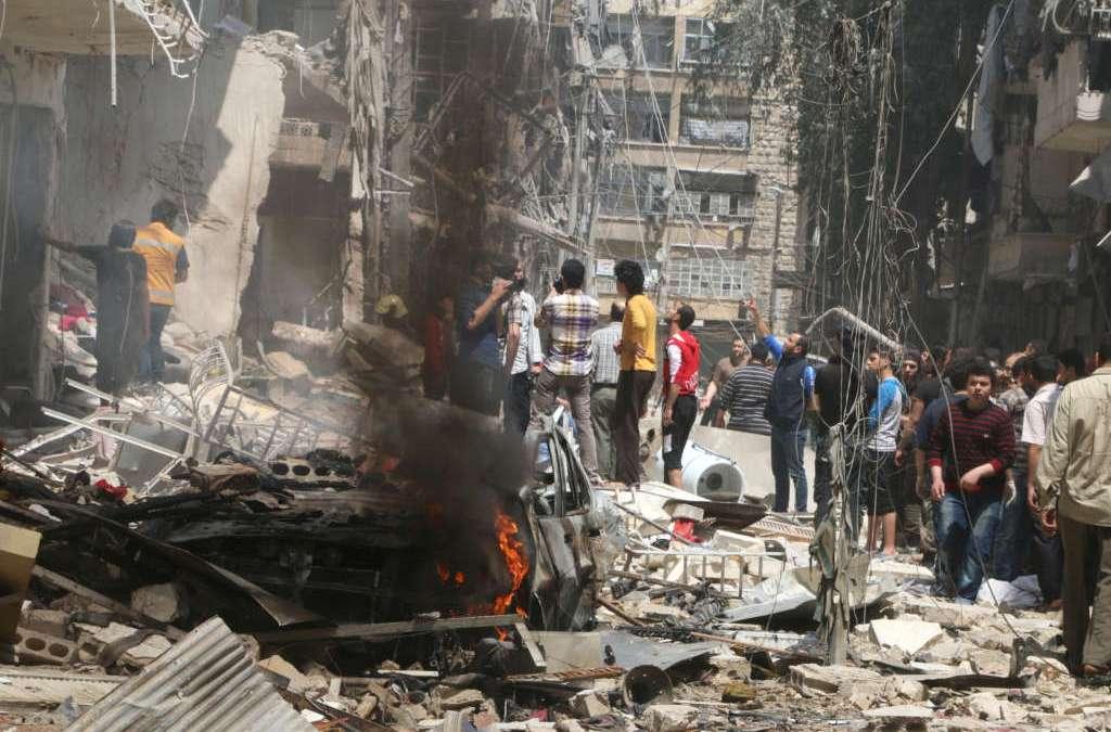 Aleppo Rebels Threaten Attrition War as Russian Jets Commit Mass Genocide