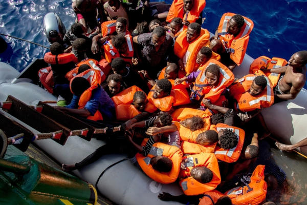 Rescue Ship Carrying Migrants Reaches Italy after deadly Week in Mediterranean