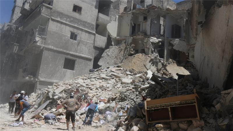 Strikes on East Aleppo Kill 25