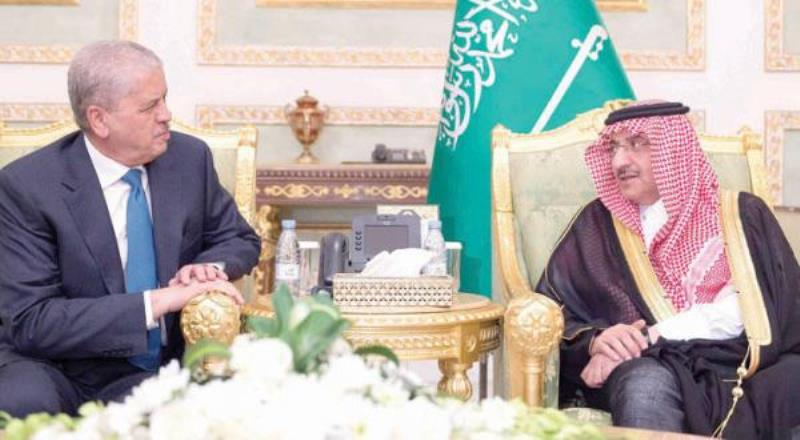 Crown Prince Holds Dinner Banquet in Honor of Algerian Prime Minister
